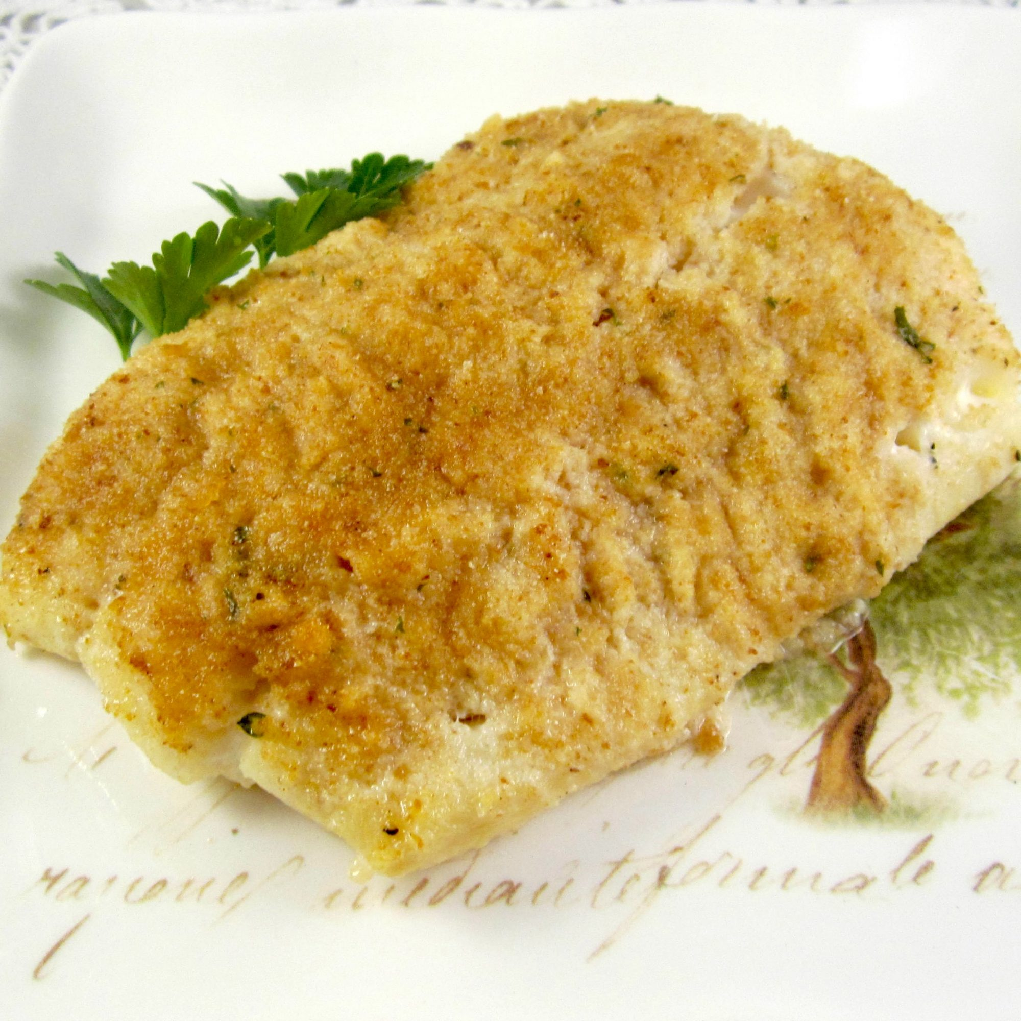 Easy, Excellent Baked Flounder