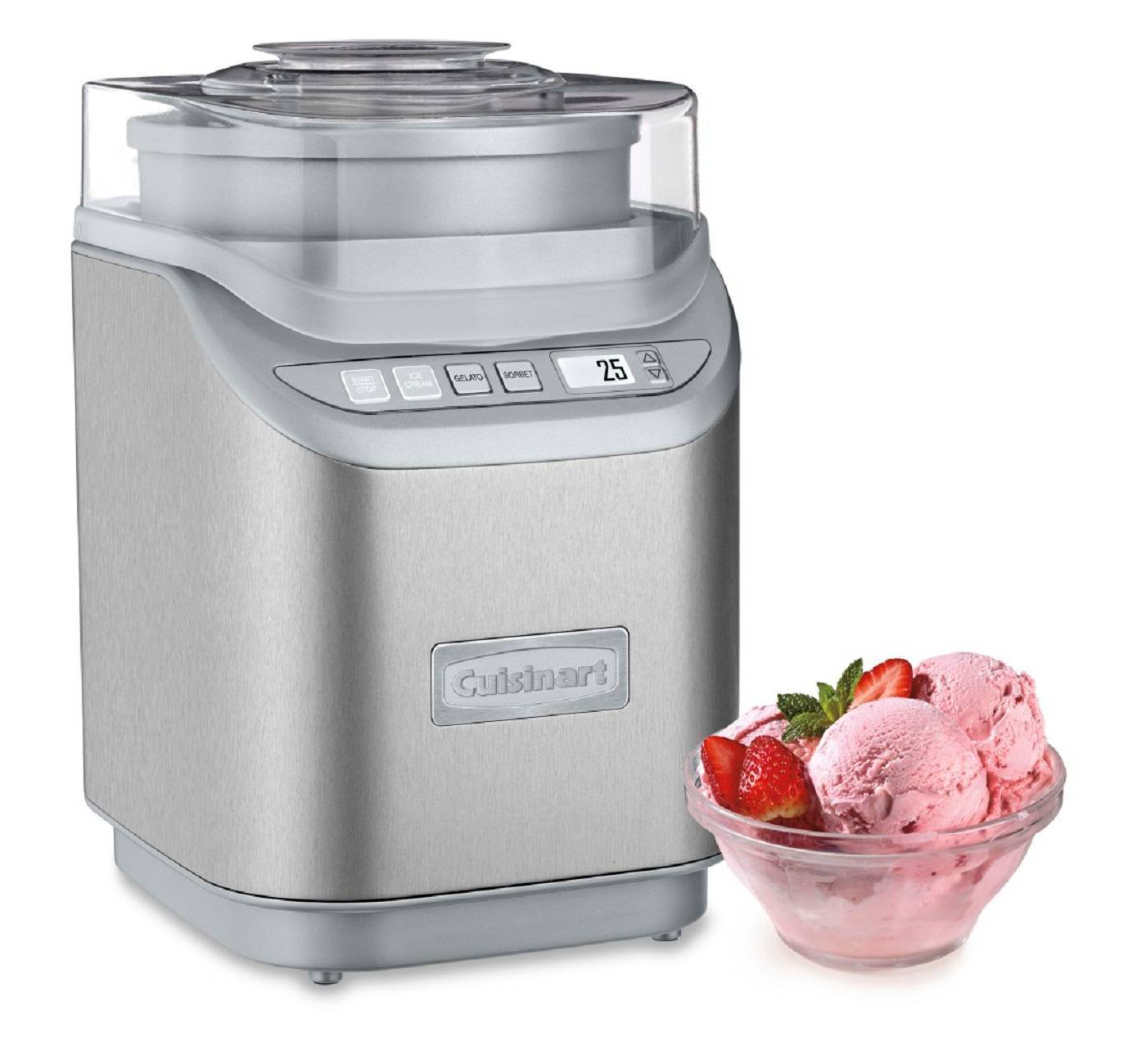 Cuisinart Electronic Ice Cream Maker - Stainless Steel ICE-70