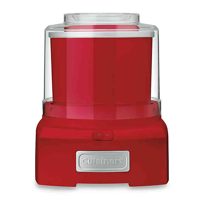 Cuisinart Ice Cream and Sorbet Maker in Red