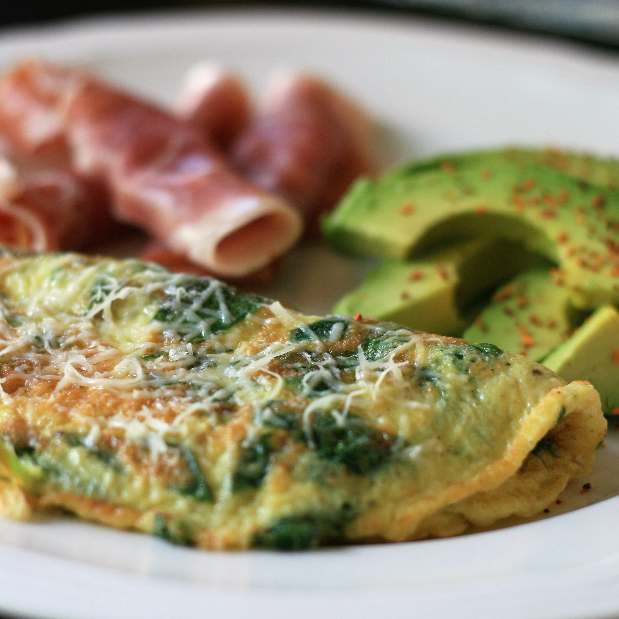 Baby Spinach Omelet