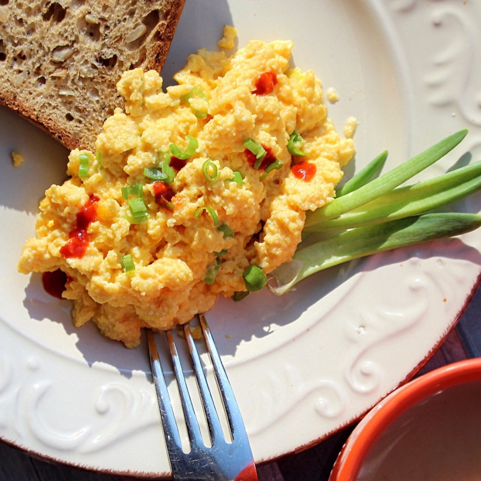 On-the-Farm Scrambled Eggs