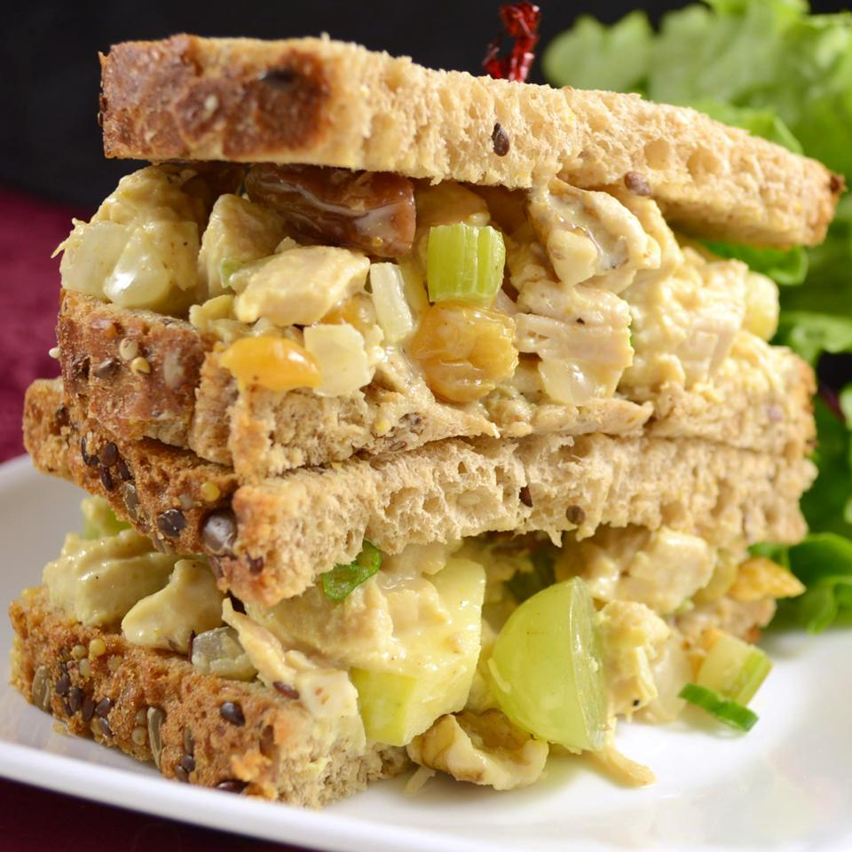 Fruity Curry Chicken Salad