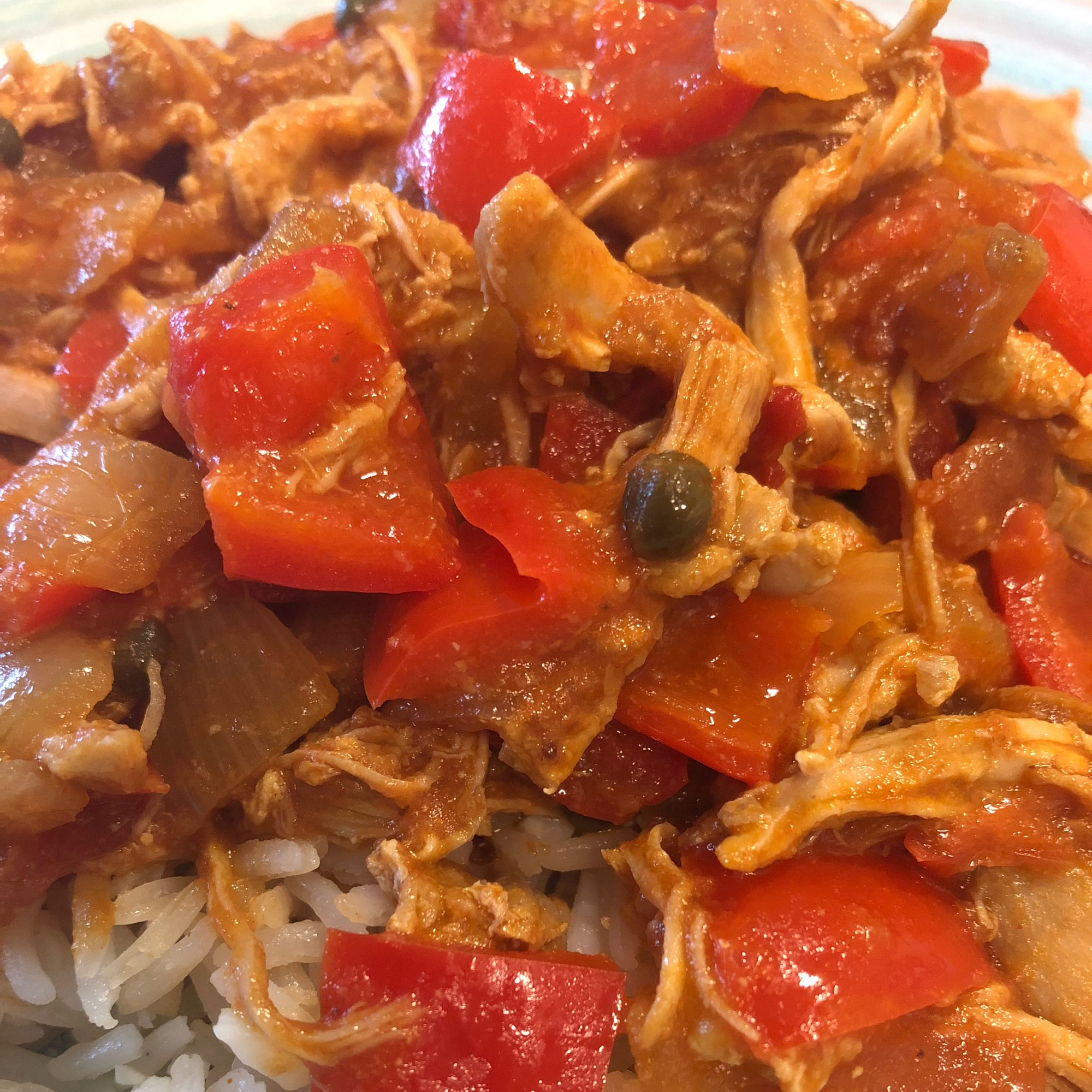 Pollo Mechado (Shredded Chicken)