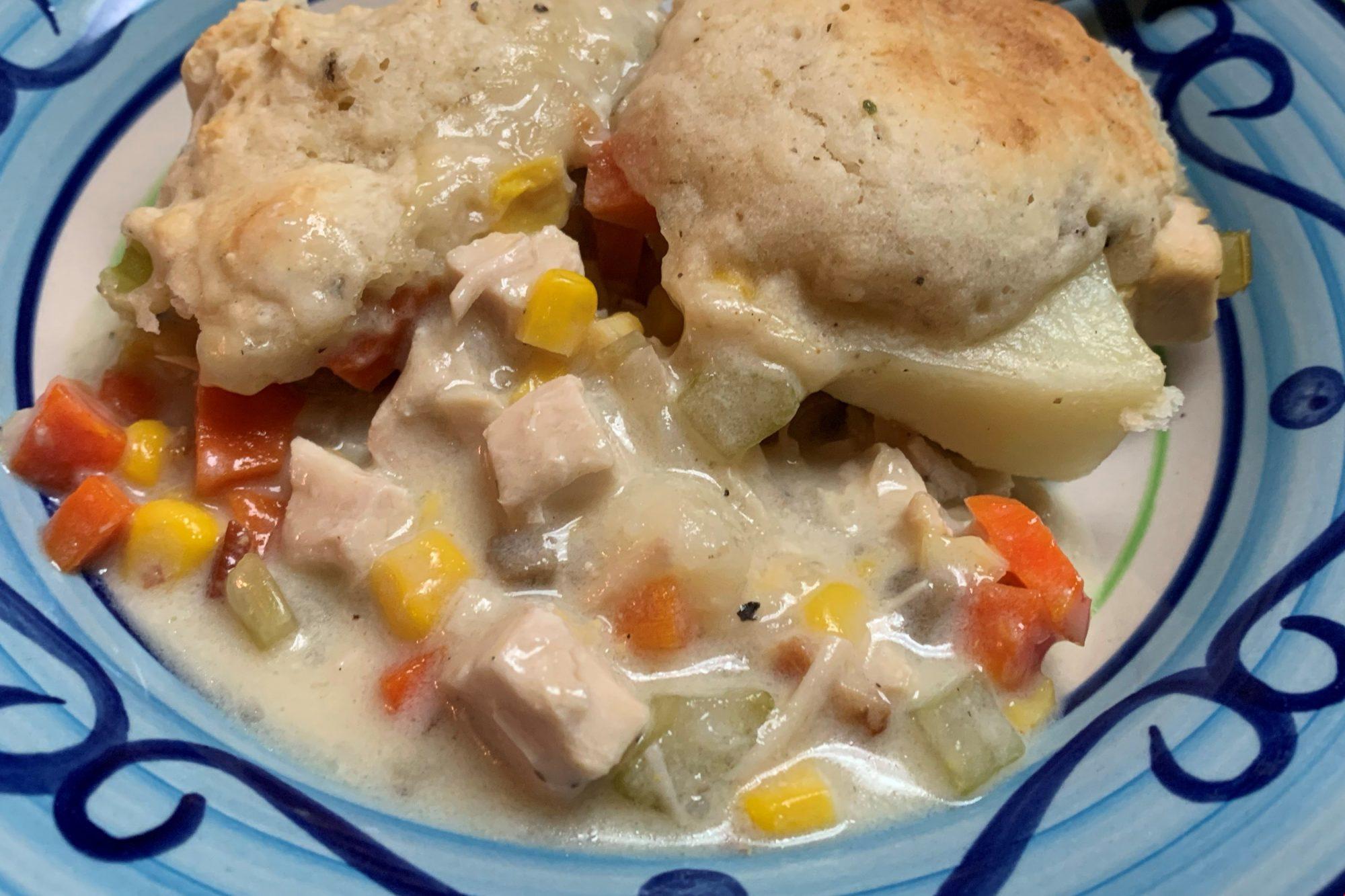 Chicken and Dumplings with Bisquick (R)