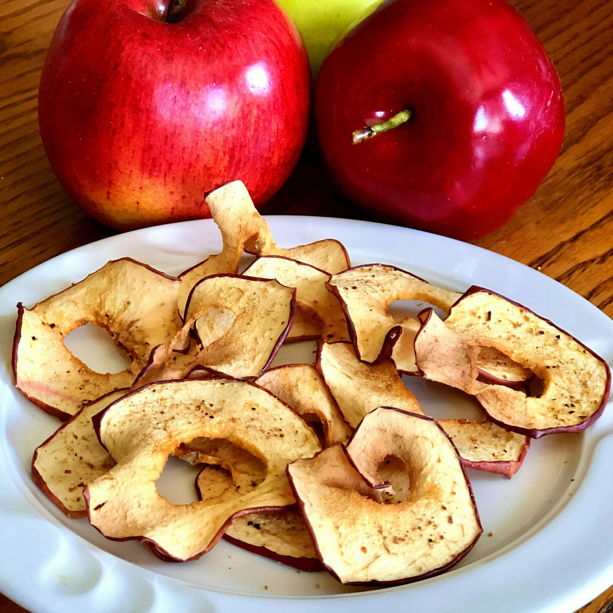 Air Fryer Tajin Apple Chips