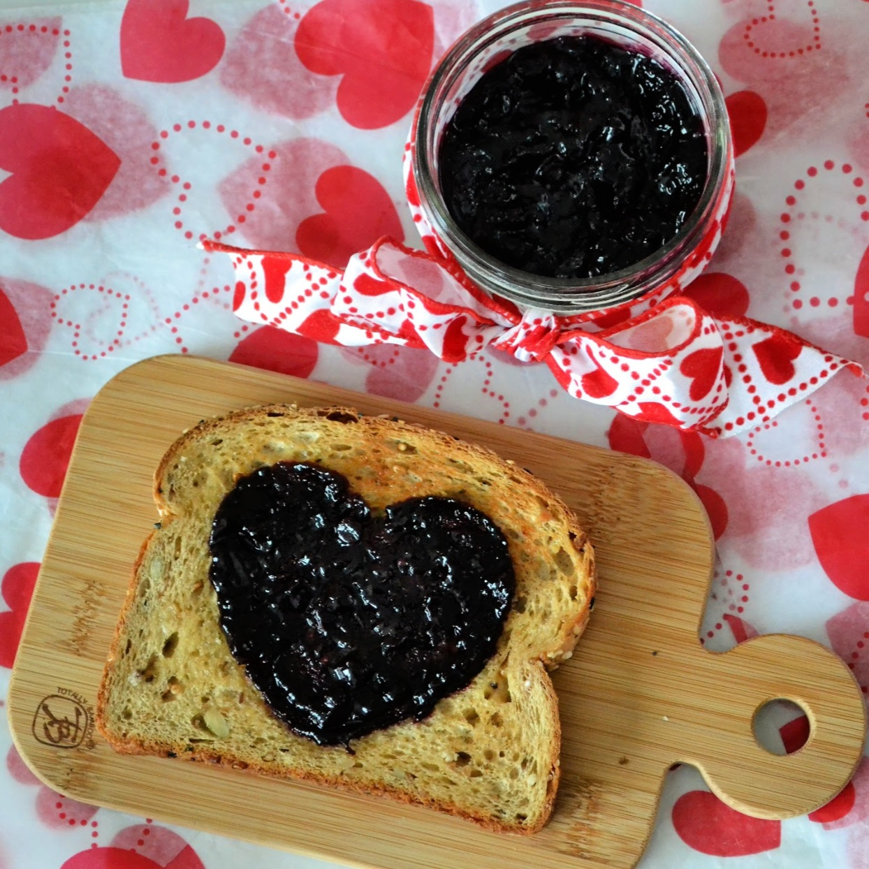 Easy Small Batch Blueberry Jam