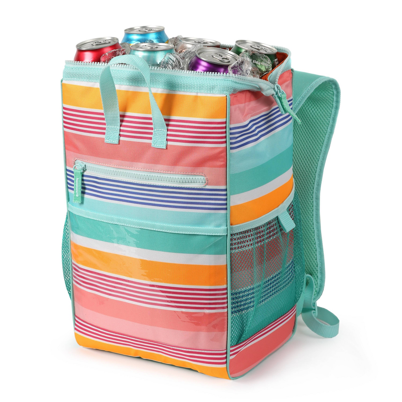 Wide Mouth Backpack Cooler - Sun Squad