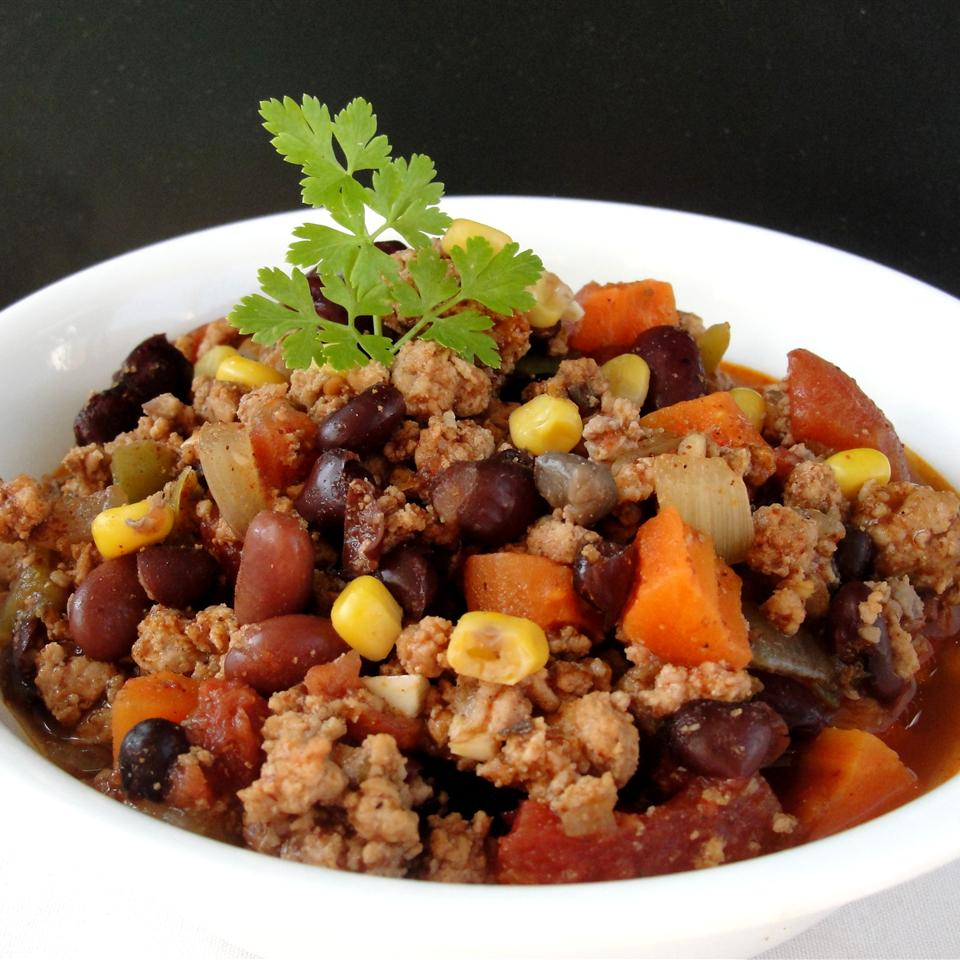 Black Bean and Chickpea Chili