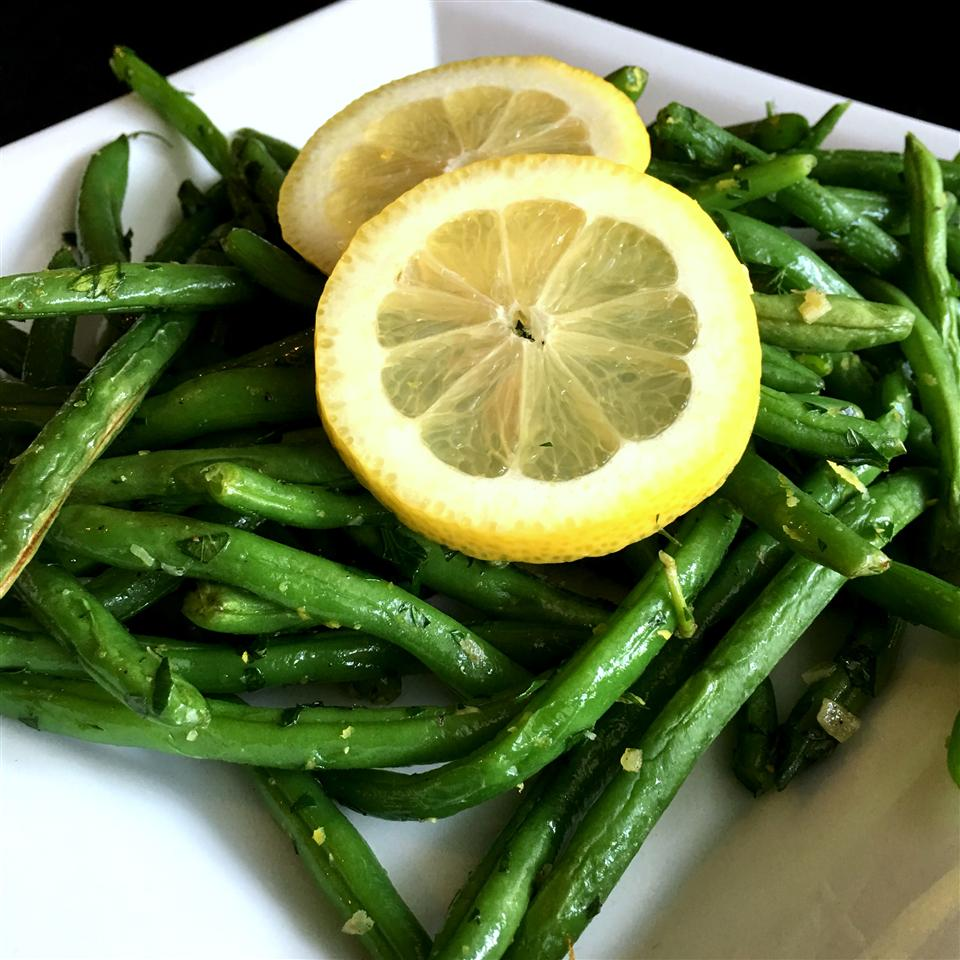 Lemon-Parsley Green Beans