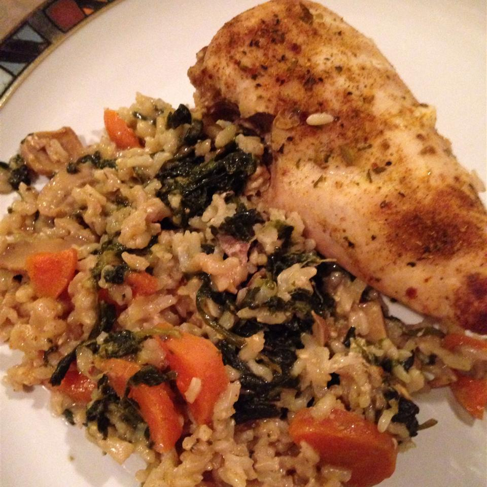 Okra, Chicken and Rice Casserole