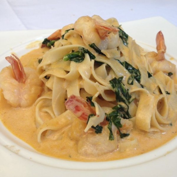 Mexican Prawn Pasta with Chipotle
