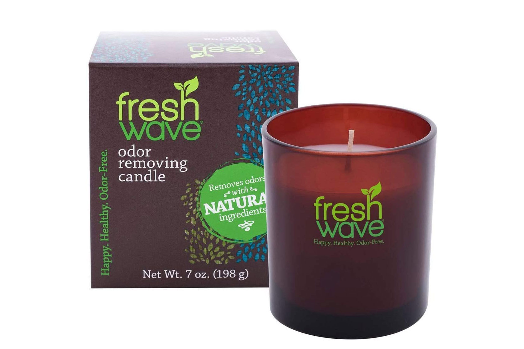 Fresh Wave Candle next to box