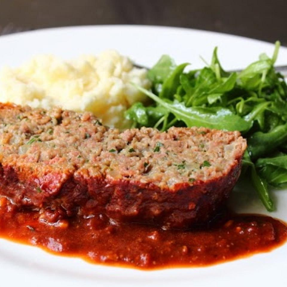 Chef John's Meatball-Inspired Meatloaf