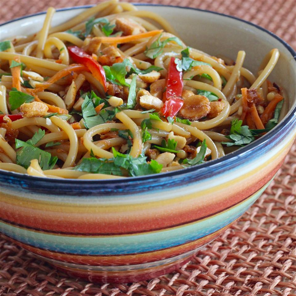 Thai-Inspired Cold Noodle Salad