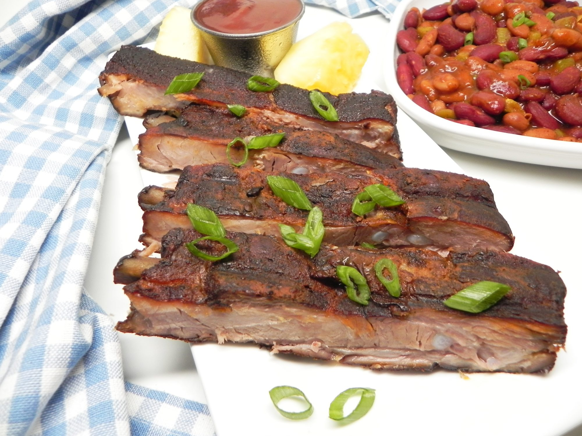 Botack's Fall-Off-the-Bone Pineapple Baked Rack of Ribs