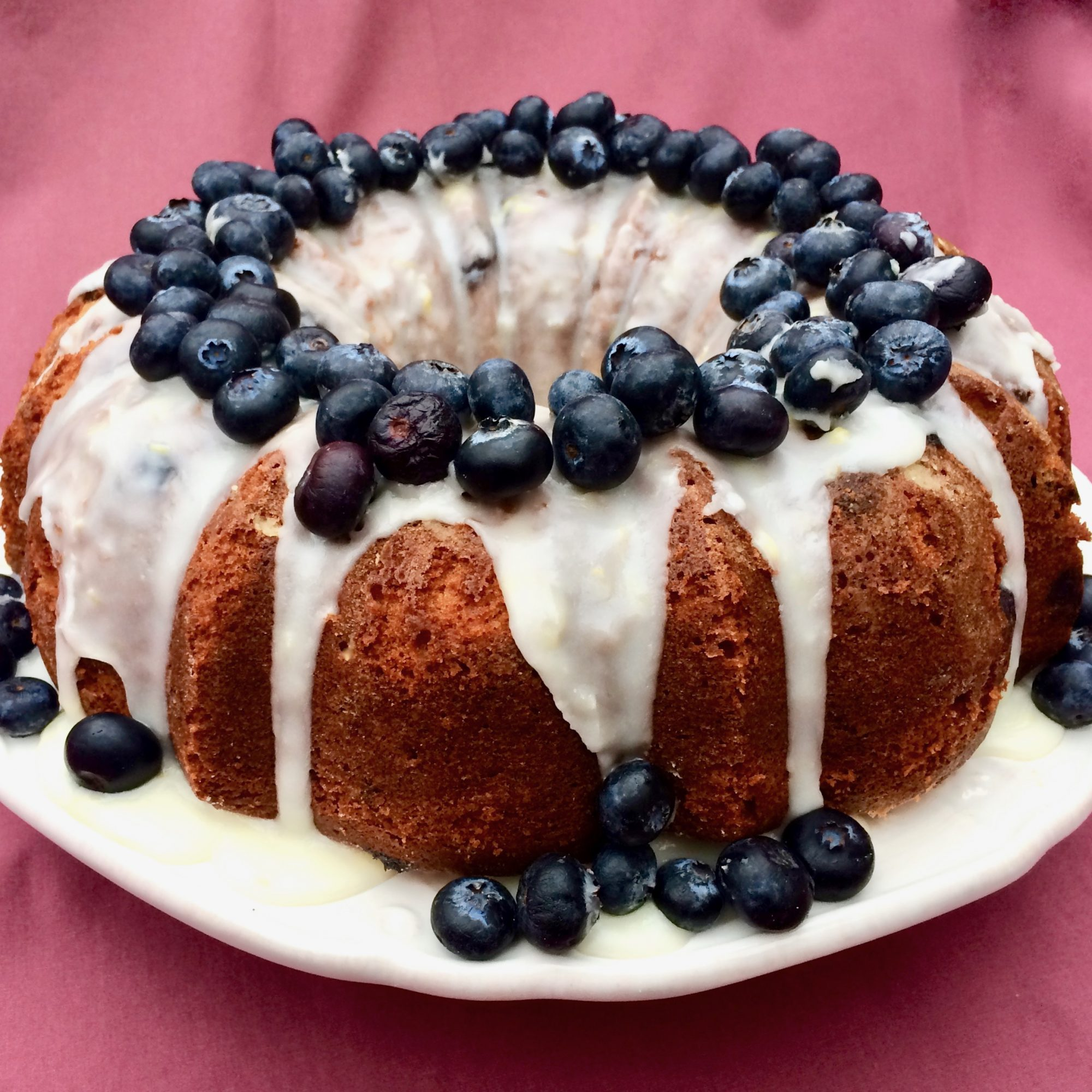 Lemon-Blueberry Bundt® Cake