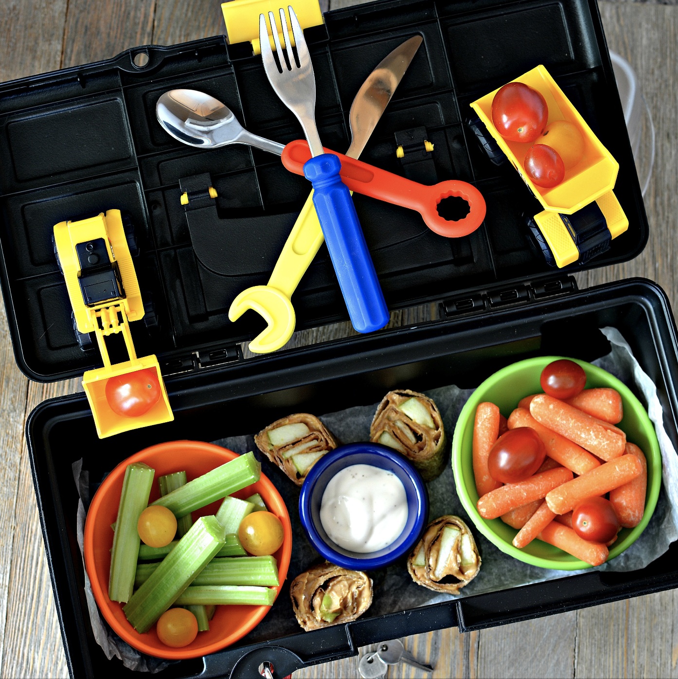 Kid-Approved Bento Toolbox Lunch