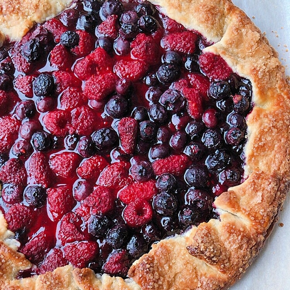 Berry Galette