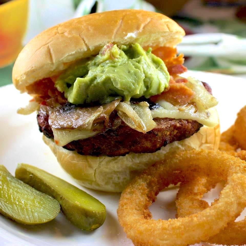 """""""We loved these! The burger itself was so moist and flavorful that it almost didn't need anything else,"""" Christina says. """"This was a winning combination!"""""""