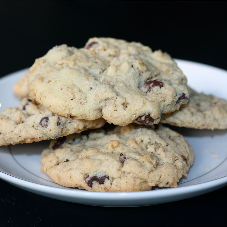 Chocolate Crispy Cookies