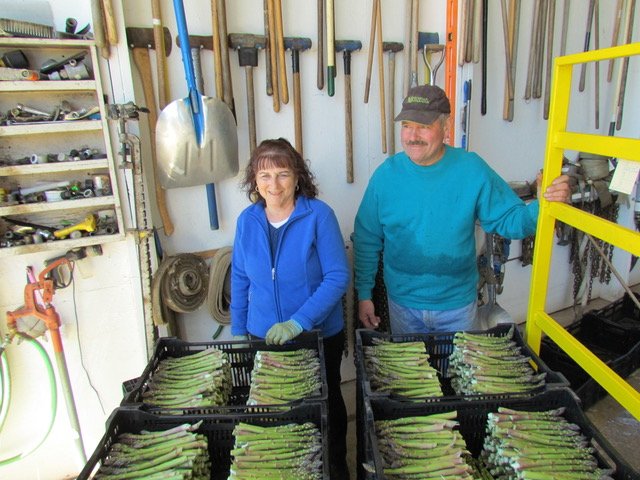 Barb and Harry Norconk of Norconk Farm