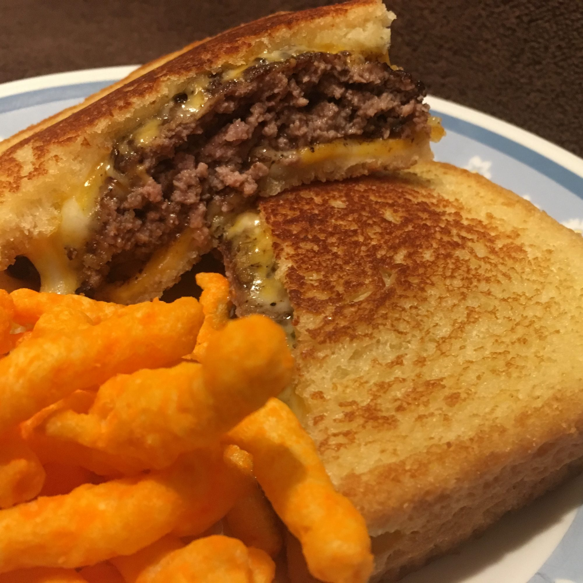 Grilled Cheese Patty Melts