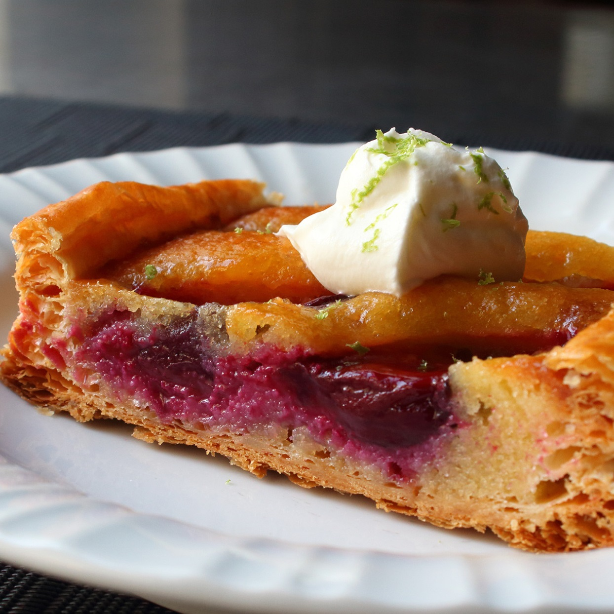 Fresh Fruit Frangipane Tart