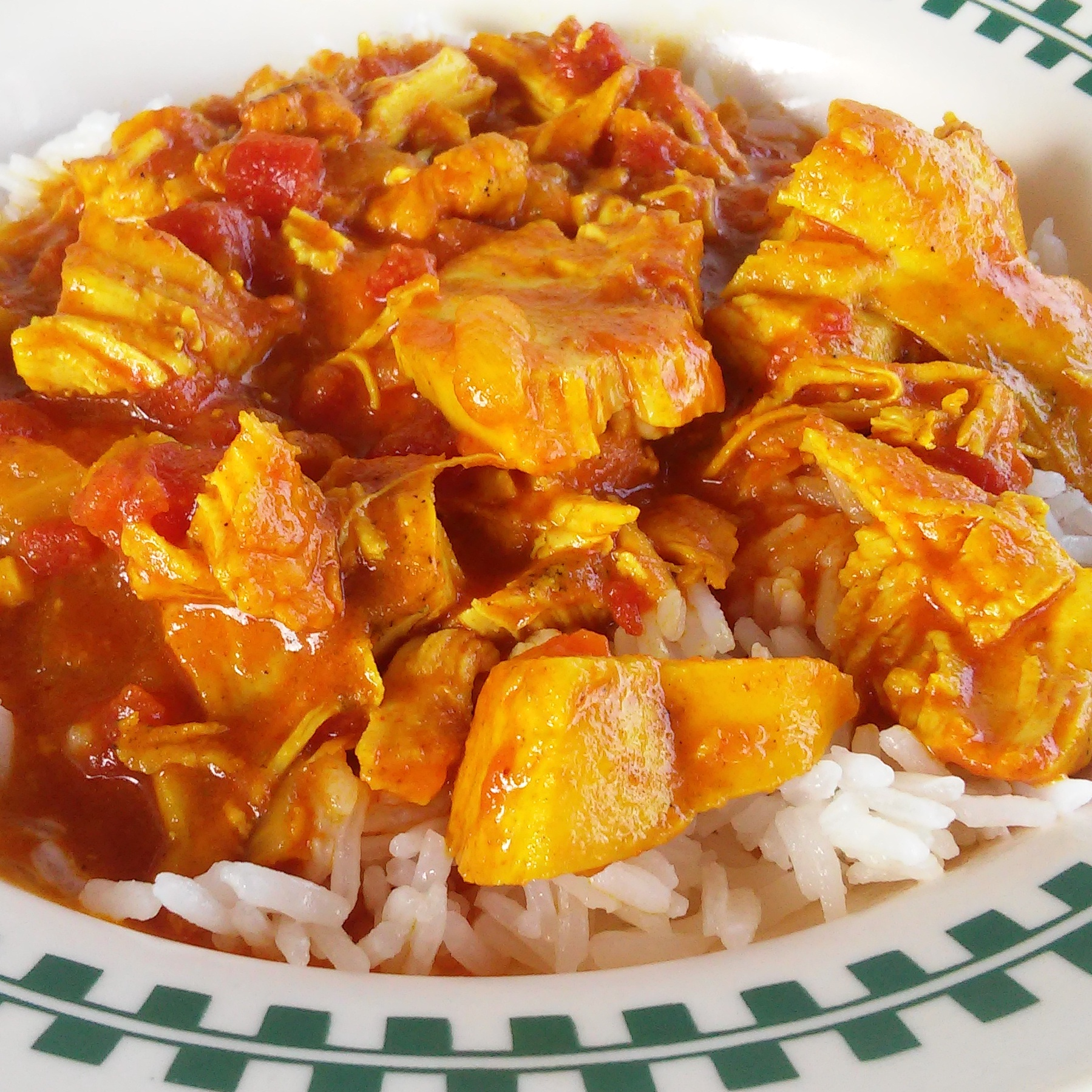 Instant Pot Coconut-Curry Chicken