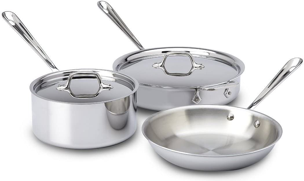 All-Clad Stainless 5-Piece Set