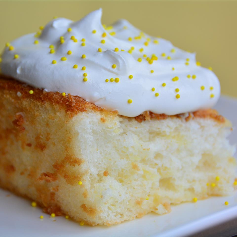 Angel Food Cake From a Mix