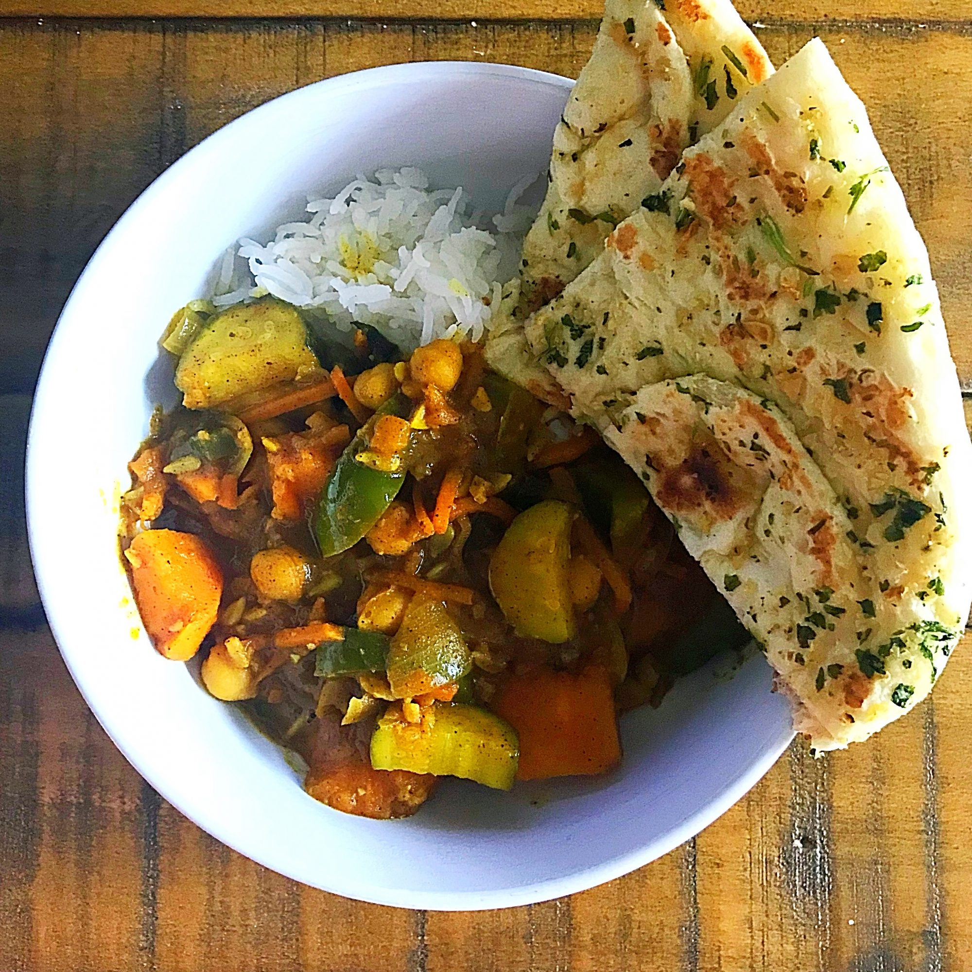 bowl of Marrakesh Vegetable Curry