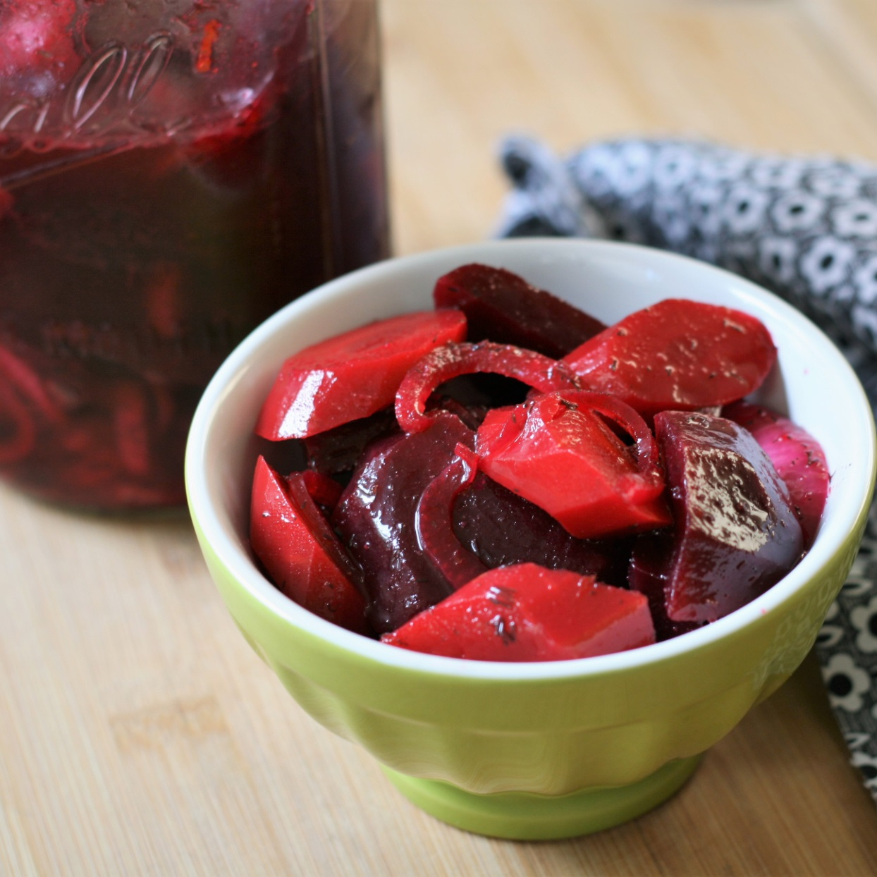 Fresh Pickled Beet Melody