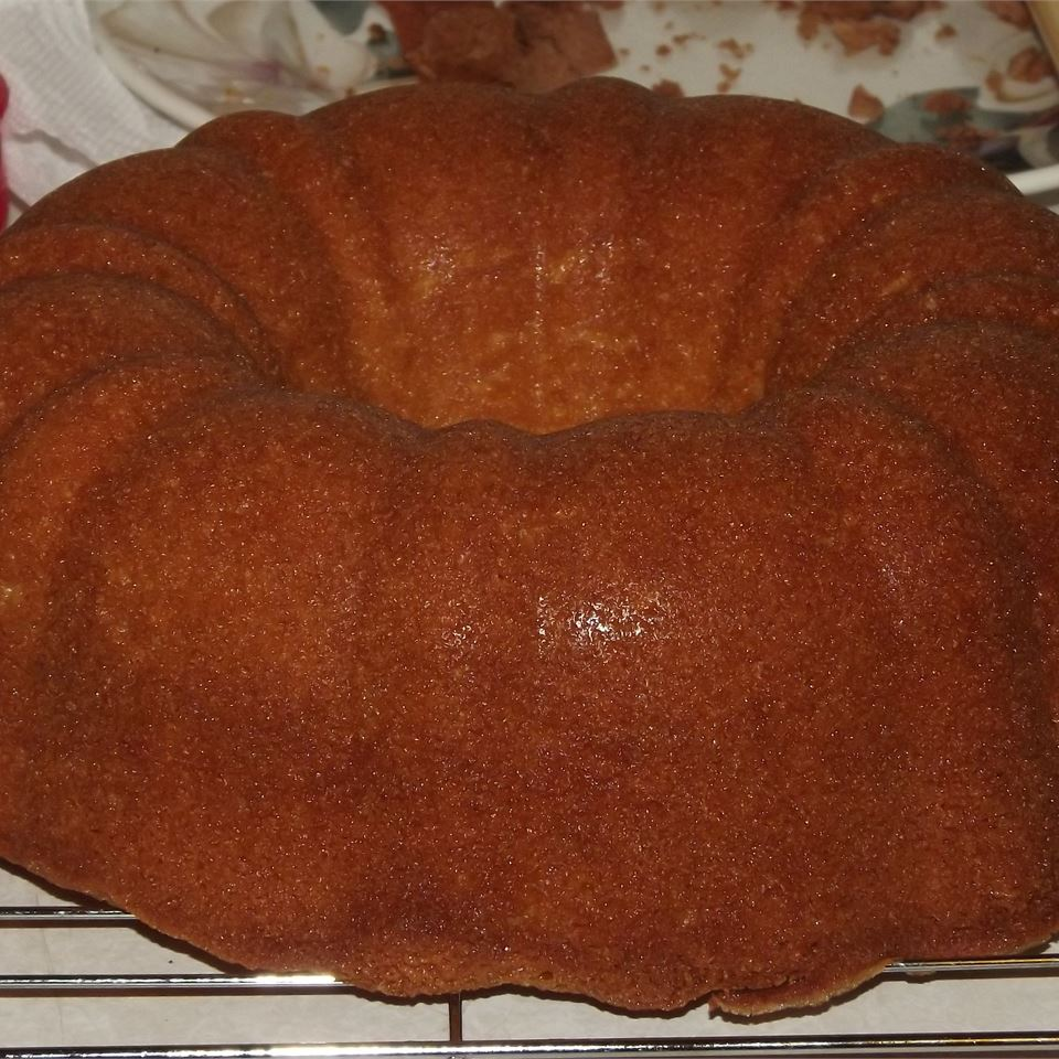 Pound Cake From a Mix