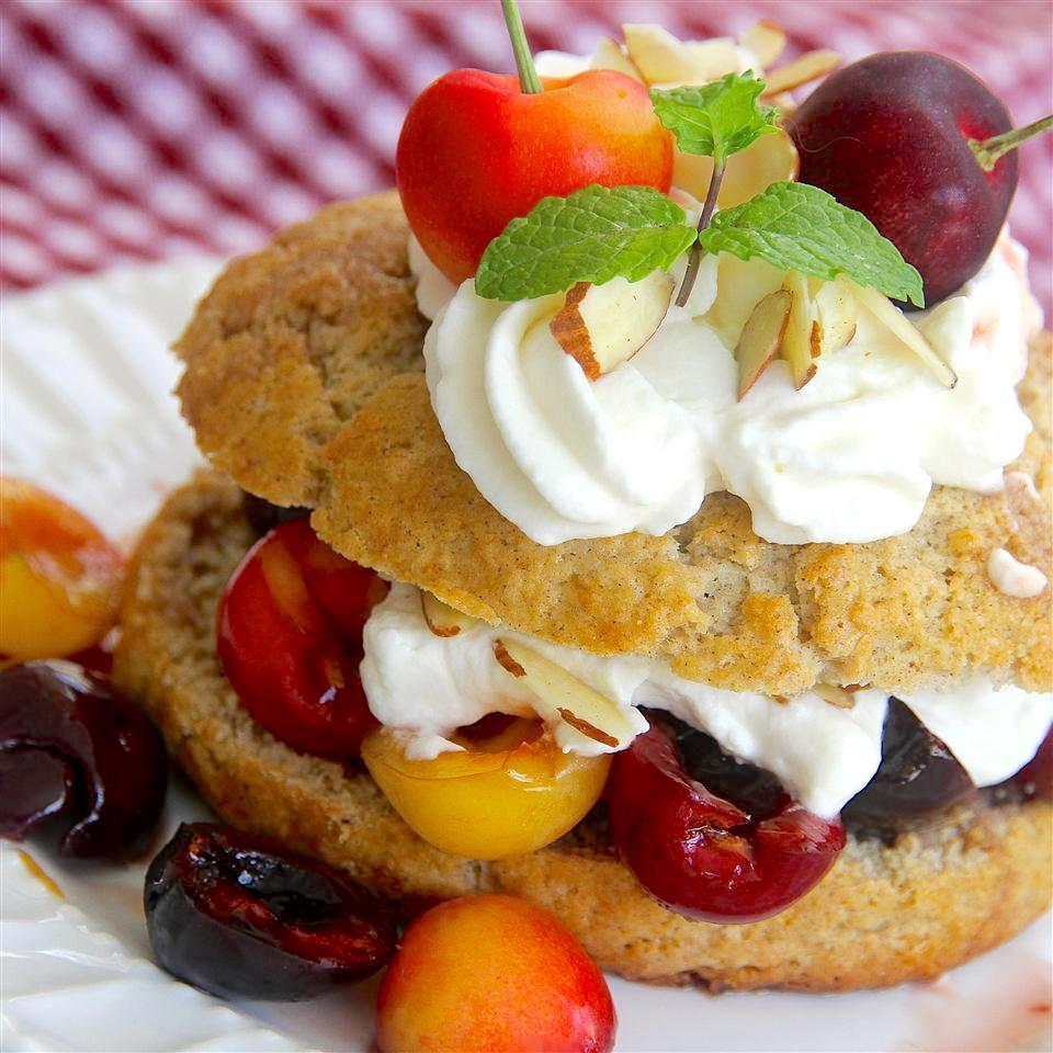 Fresh Cherry Shortcake
