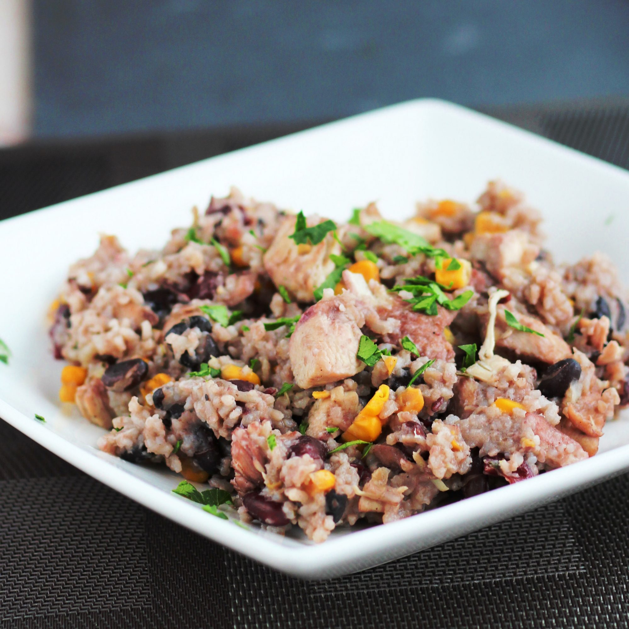 Instant Pot Jamaican Rice and Beans