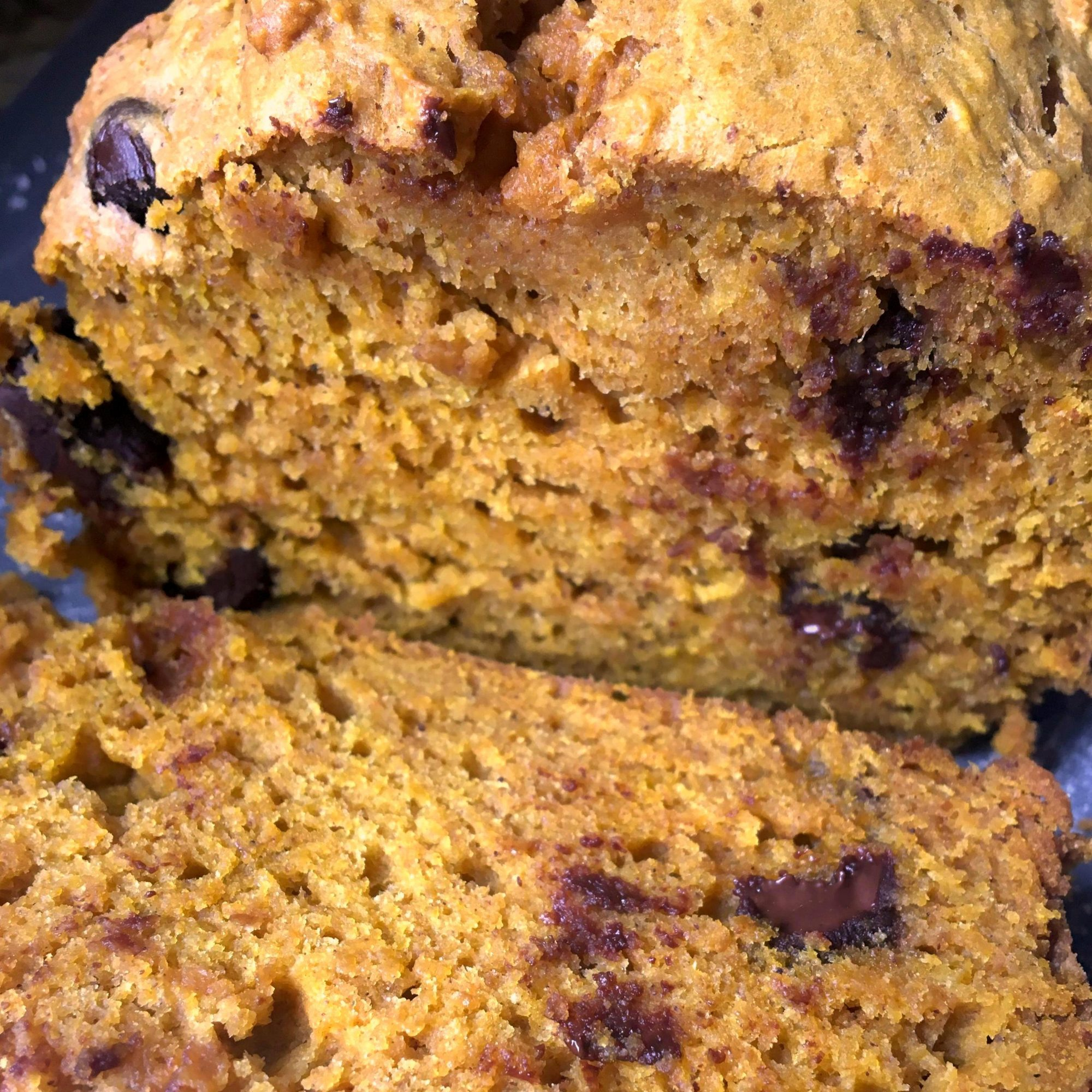 Chef John's Holiday Pumpkin Bread sliced