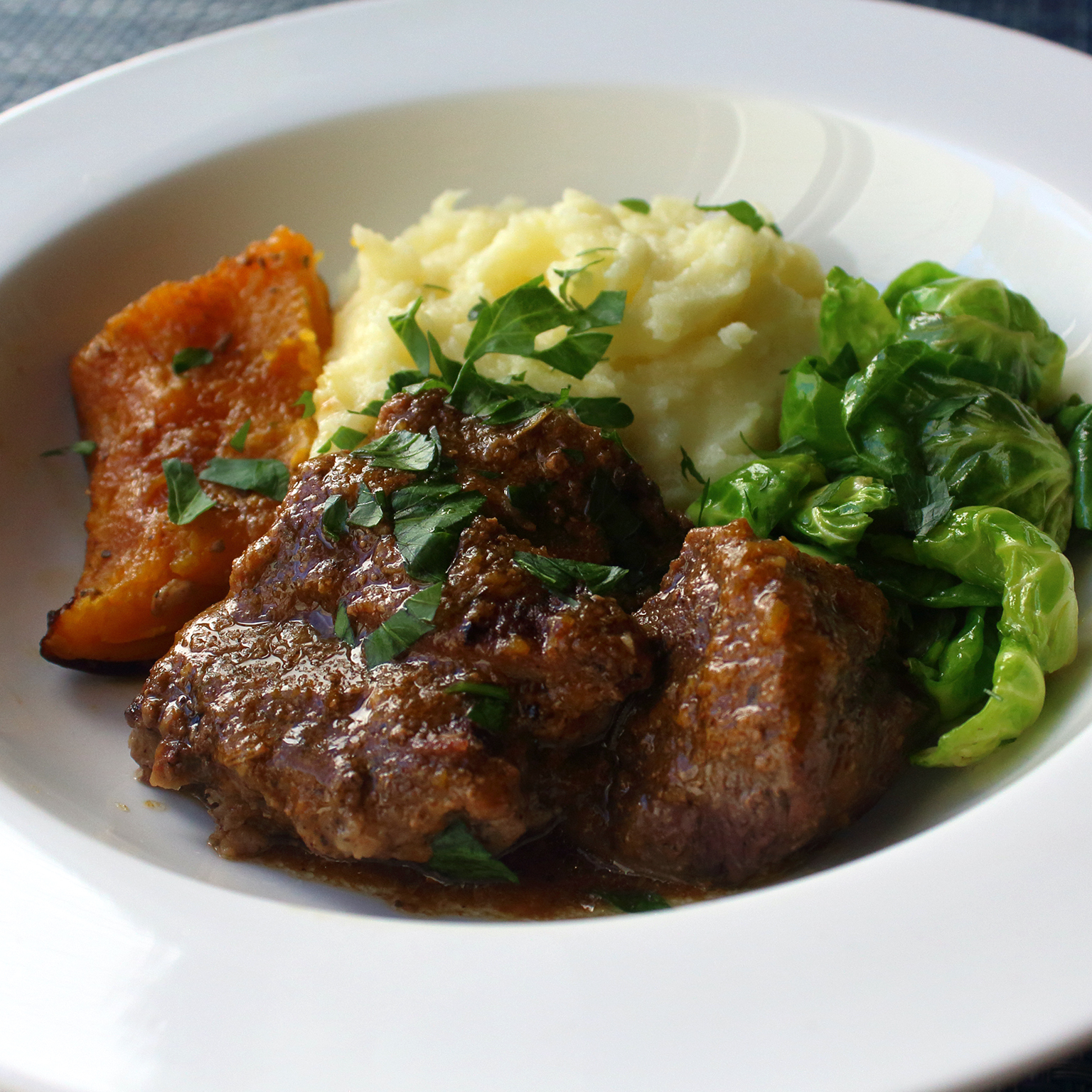 Chef John's Pumpkin-Braised Pork