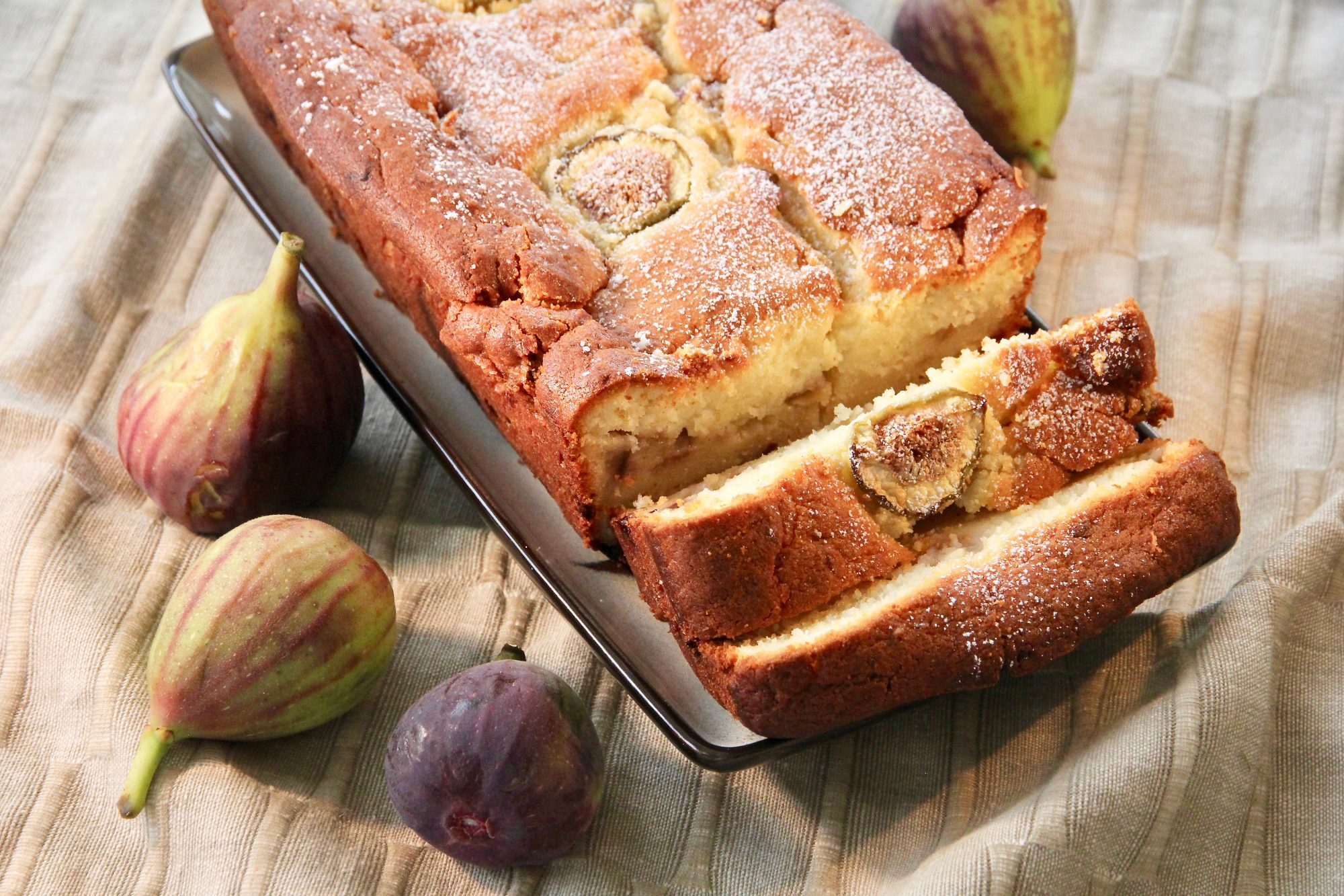 fig ricotta cake with fresh figs