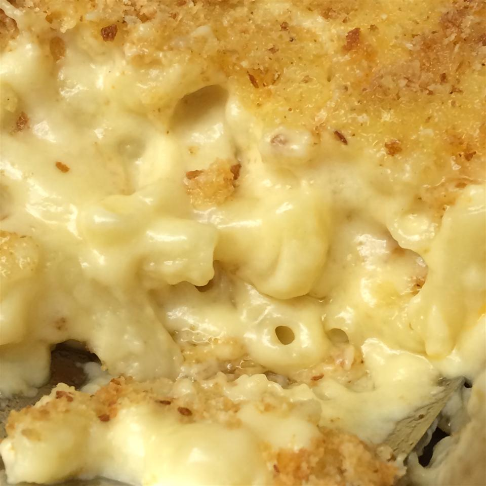 Close up of Smoky Macaroni and Cheese