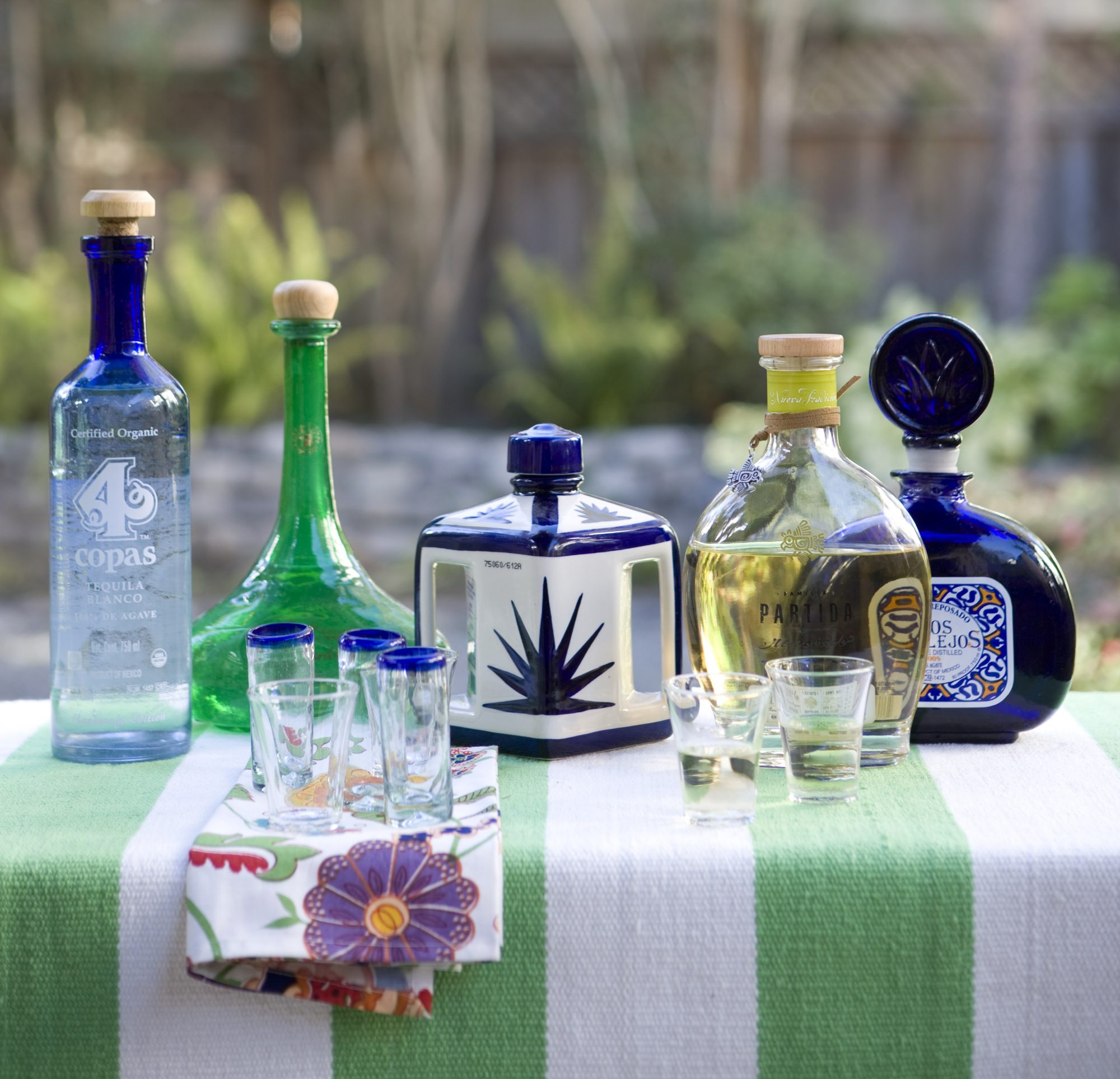 Types of tequila from Jalisco