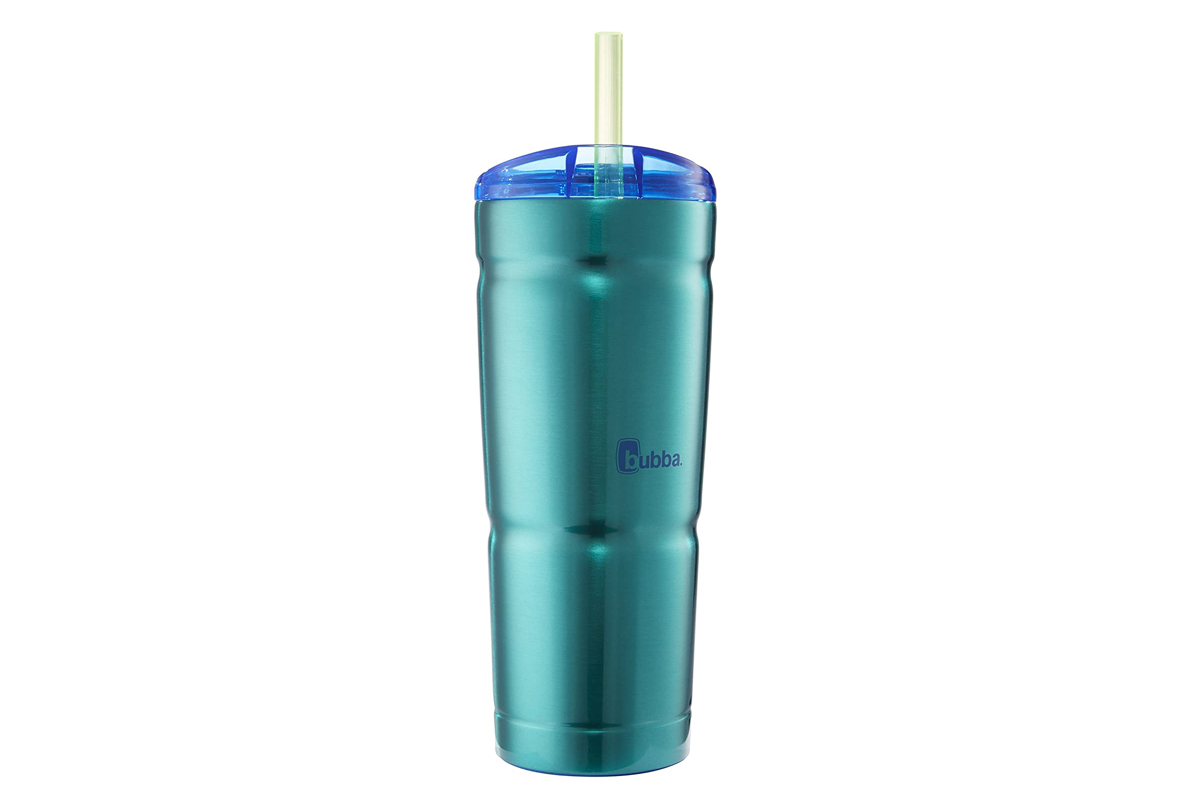 bubba Envy S Vacuum-Insulated Stainless Steel Tumbler with Straw on a white background