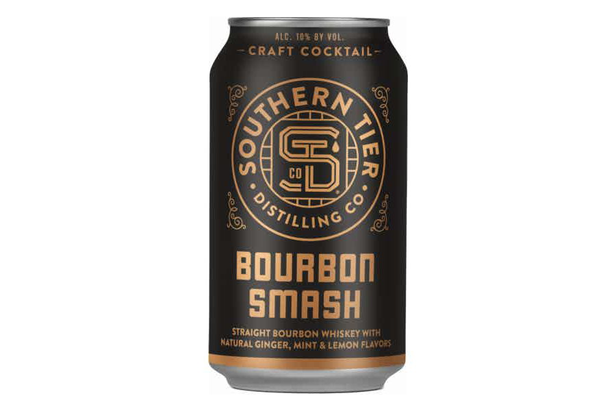 a can of Southern Tier Bourbon Smash Craft Cocktail on a white background