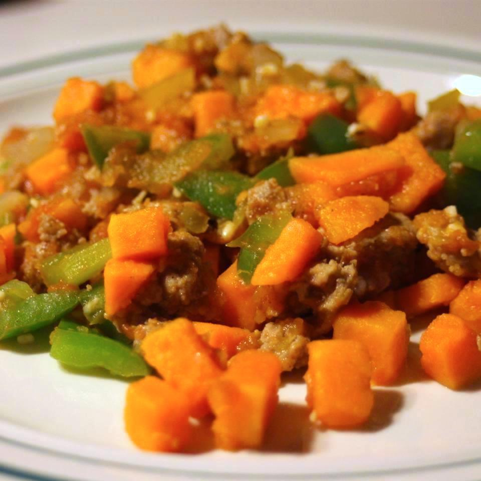 """""""One of the most colorful dishes I've ever made and a nice mix of sweet savory and spicy,"""" Jerri L. says. """"It's fall in a bowl!"""""""