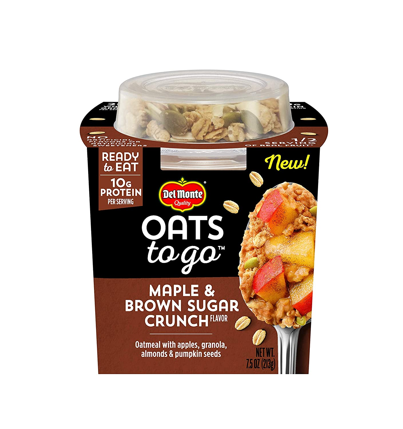 package of Oats to Go in Maple Brown Sugar Crunch