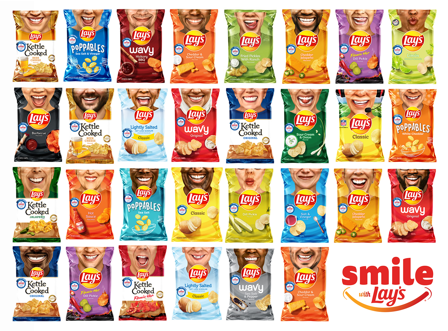 Lay's Smile Bags
