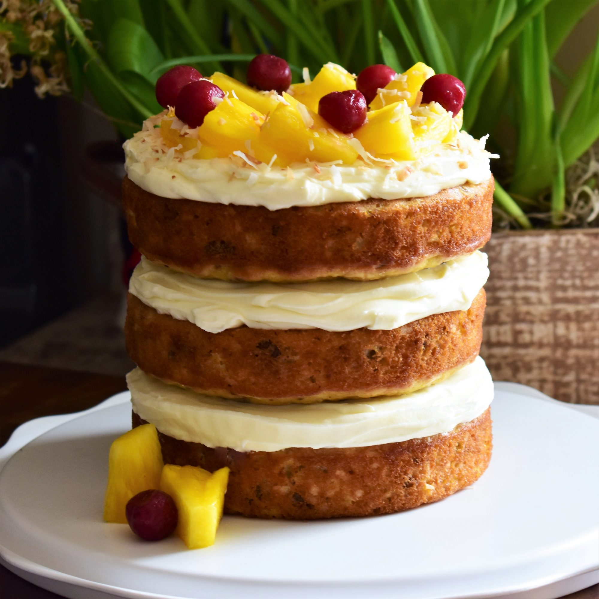 Hawaiian Wedding Cake I
