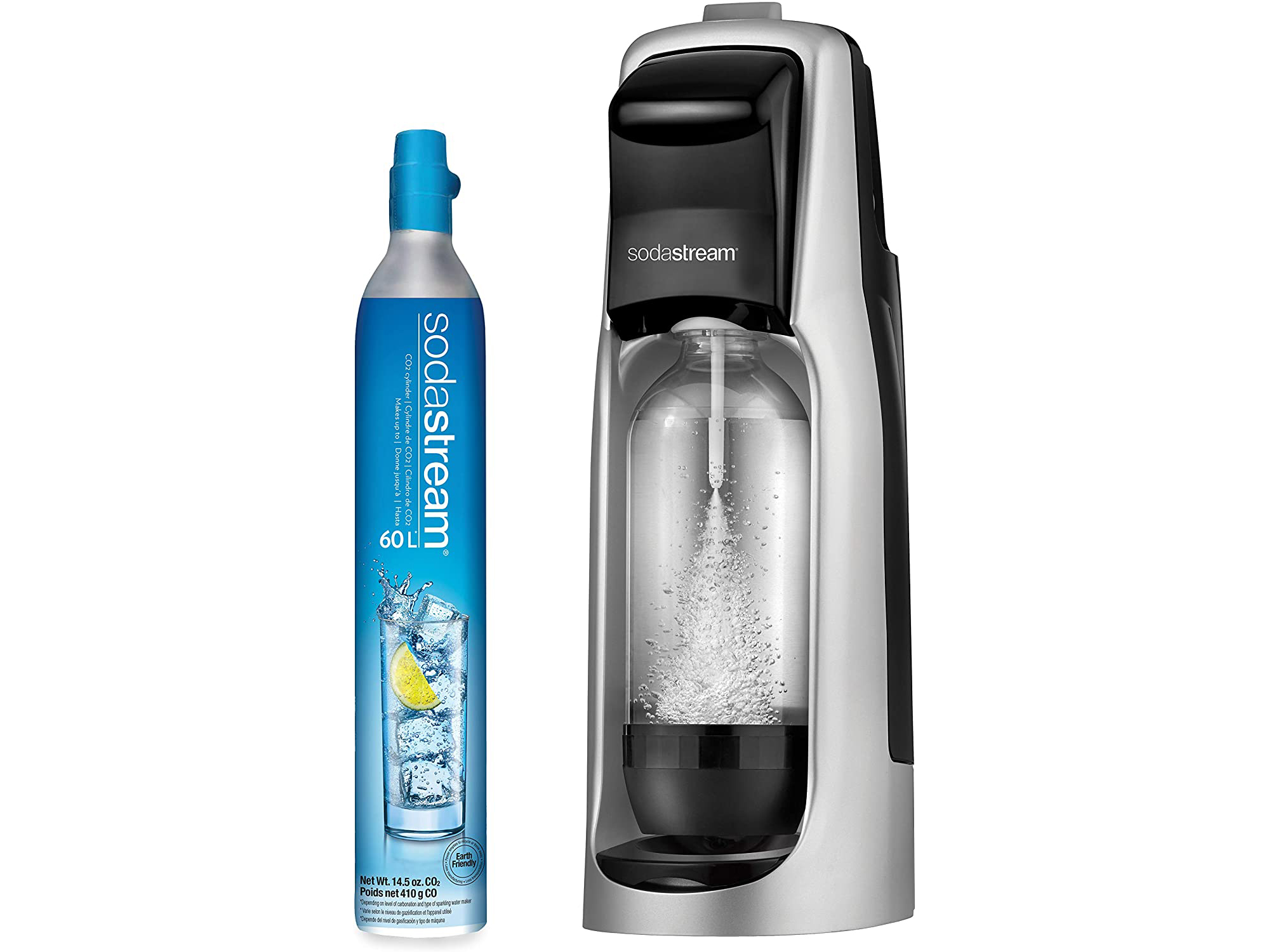 Sodastream and bottle