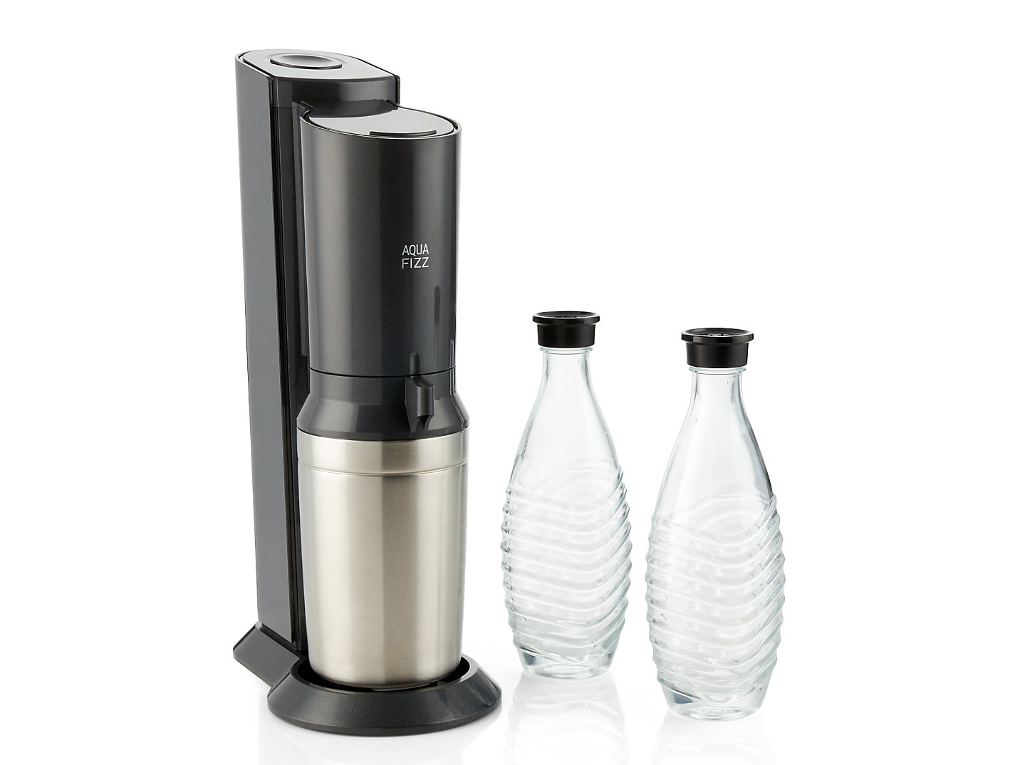 Sodastream and two bottles