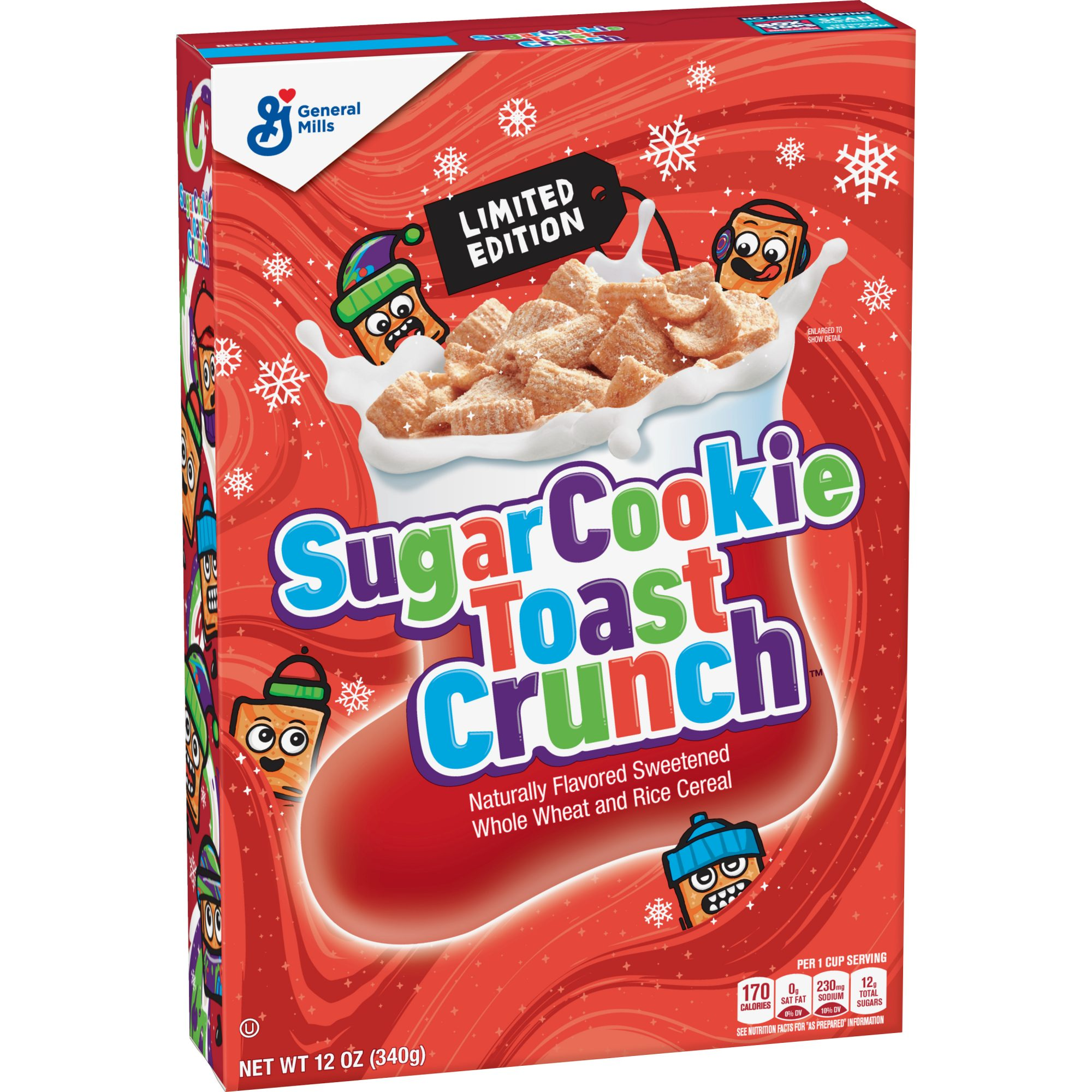 Sugar Cookie Toast Crunch Front Angled