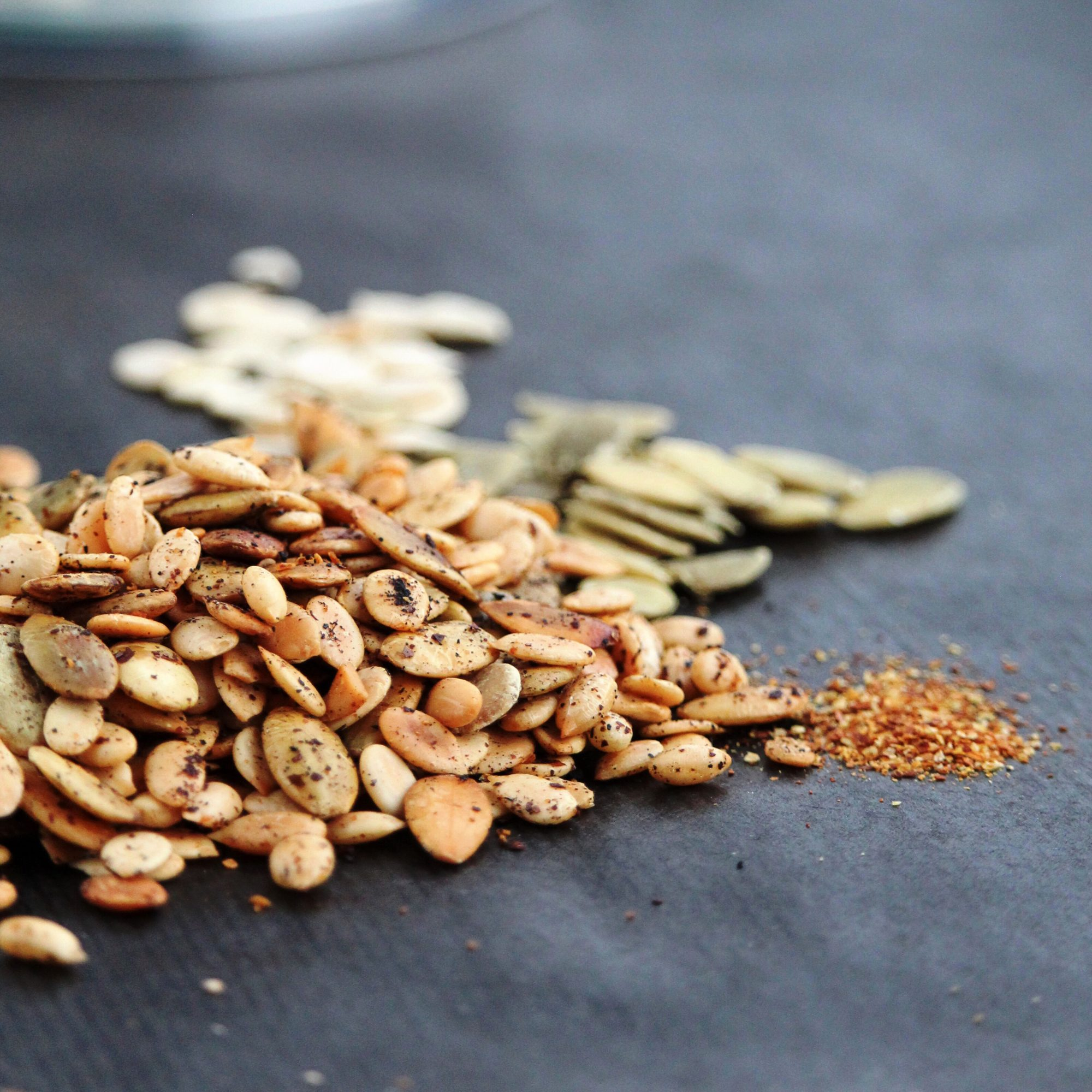 roasted pumpkin seeds with spices